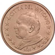 Vatikan 2 Cent 2005 Papst Johannes Paul II