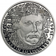 5 Mark Martin Luther Gedenkmuenze BRD