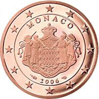 Monaco 2 Cent 2006  PP