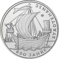 Gedenkmünze 10 Euro 2006 PP 650 Jahre Städtehanse