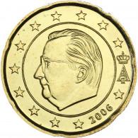 Belgien 20 Cent 2006 bfr. König Albert II.