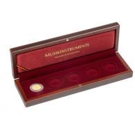 Münzeetui für BRD 50 Euro Goldmünzen 2018 bis 2022 Musikinstrumente Zubehör