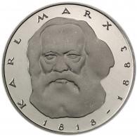 Deutschland 5 DM 1983 Stgl. Karl Marx