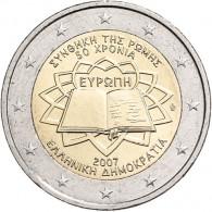 Griechenland 2 Euro 2007 bfr. 50 Jahre Römische Verträge