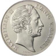 Koenigreich Bayern Doppelgulden 1855 Maximilian II. Mariensäule