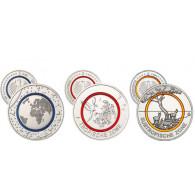 Deutsche Münz-Sensation: 5-€uro-Sammlermünzen mit lichtdruchlässigen , farbigen Polymerring  Planet  Erde, Tropische und Subtropische Zonen bestellen