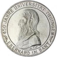 """J. 329 Weimarer Republik 5 Reichsmark """"450 Jahre Universität Tübingen"""" 1927 F"""
