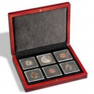 Zubehör für 6 QUADRUM Münzkapseln -  339052 -  Münzetui VOLTERRA