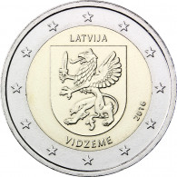 2017 2 Euro Sondermünze Vidzeme aus Lettland