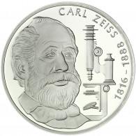 Deutschland 10 DM Silber 1988 Stgl. 100. Todestag von Carl Zeiss