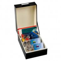 Sammelbox Zubehör 347923 - Archivbox LOGIK  DIN C6 für Kursmünzensätze Coincard Postkarten