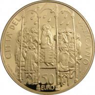 Vatikan 50 Euro 2006 GOLD PP Die Firmung
