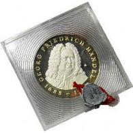 DDR  20 Mark 1984 Georg Friedrich Händel  PP Original verplombt