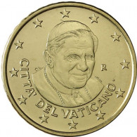 Kursmünzen Vatikan Cent Euro Papst Benedikt Zubehör Münzkatalog