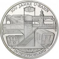 Deutschland 10 Euro 2002 PP 100 Jahre U-Bahn in Deutschland