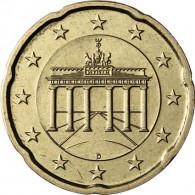Deutschland 20 Euro-Cent 2015  Kursmünze mit Eichenzweig