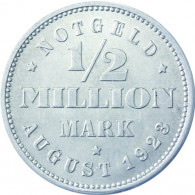 N 34 -  1/2 Million Mark Hamburg 1923