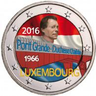 Luxemburg 2 Euro Gedenkmünze Charlotte Brücke
