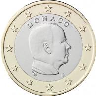 Monaco 1 Euro Kursmünzen 2009 Fürst Albert II