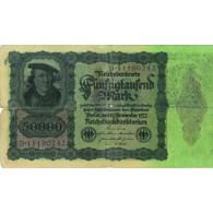 Reichsbanknote 50.000 Mark 1922