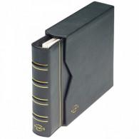 320592 - NUMIS Leder-Ringbinder Classic Schwarz inkl. Schutzkassette