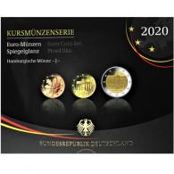 Deutschland 5.88 Euro 2020 PP KMS 1 Cent - 2 Euro Mzz. J im Folder