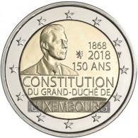 Luxemburg 2 Euro 2018 bfr. 150 Jahre Verfassung