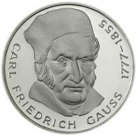 Deutschland 5 DM Silbermünze 1977 Stgl. Carl Friedrich Gauss