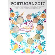 Portugal KMS 2017 Kursmuenzen Cent bis Euro Zubehör bestellen