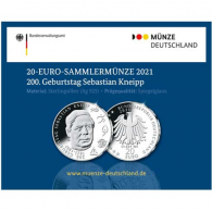 Deutschland-20-Euro-2021-Sebastian-Kneipp-PP-Folder