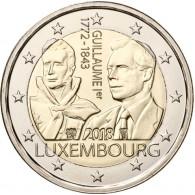 Gedenkmünze an Herzog Guillaume aus Luxemburg 2 Euro