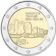 2 Euro Sondermünzen Malta Hagar Qim mit Füllhorn