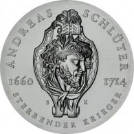 J.1634 - DDR 20 Mark 1990 Stgl. Andreas Schlüter Sonderpreis