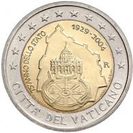 Vatikan 2 Euro 2004 stgl. 75 Jahre Vatikanstadt