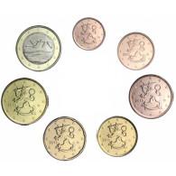 Finnland Kursmünzen Euro und Cent Jahrgang 2015