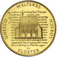 Deutschland 100 Euro 2014 stgl. Welterbe Kloster Lorsch Mzz. F