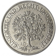 J.331 -  5  Reichsmark 1927-33  Eichbaum