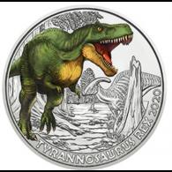 Österreich-3-Euro-2020-Tyrannosaurus-Rex-I-und-II