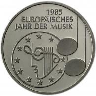Deutschland 5 DM 1985 Stgl. Europäisches Jahr der Musik