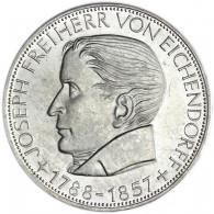 5 DM Münze Freiherr von Eichendorff