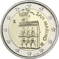 2 Euro Münze San Marino Regierungspalast Kursmünzen bestellen Zubehör Münzkatalog