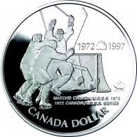 Kanada 1 Dollar  Silber 1997   PP Eishockey