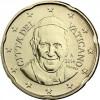 Kursmünzen  Vatikan 20 Euro-Cent 2014 mit dem Motiv Papst Franziskus ✓ selten ✓ Nie im Zahlungsverkehr zu finden ✓ Münzkatalog bestellen