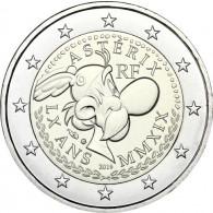 2 Euro-Sondermünze 60 Jahre Asterix Frankreich 2019