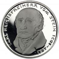Deutschland 5 DM 1981 PP Reichsfreiherr vom und zum Stein in Münzkapsel