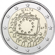 2 Euromünzen Europa Flagge 2015 kaufen