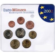Deutschland KMS original Kursmünzensätze 2002 im Folder Stempelglanz bestellen Münzhändler