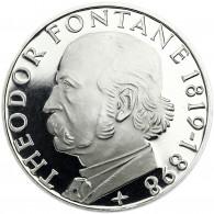 Deutschland 5 DM Silber 1969 PP Theodor Fontane in Münzkapsel