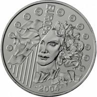 Frankreich 1/4 Euro 2004  bfr. Europa 2004