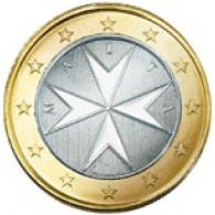 1 Euro Münze 2008 aus Malta